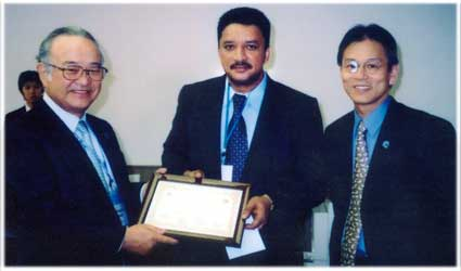 MODUS Award of Merit - Dr. S.M Balaji